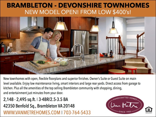 Brambleton VA New Townhomes For Sale